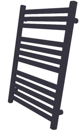 Grzejnik łazienkowy Kumiko 750x530 czarny